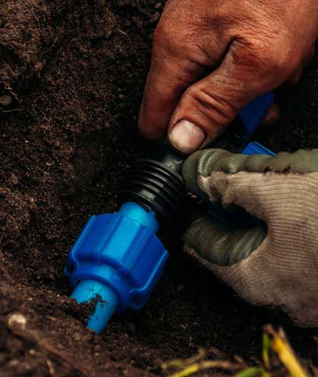 DeRoman Landscaping LLC Irrigation Installation